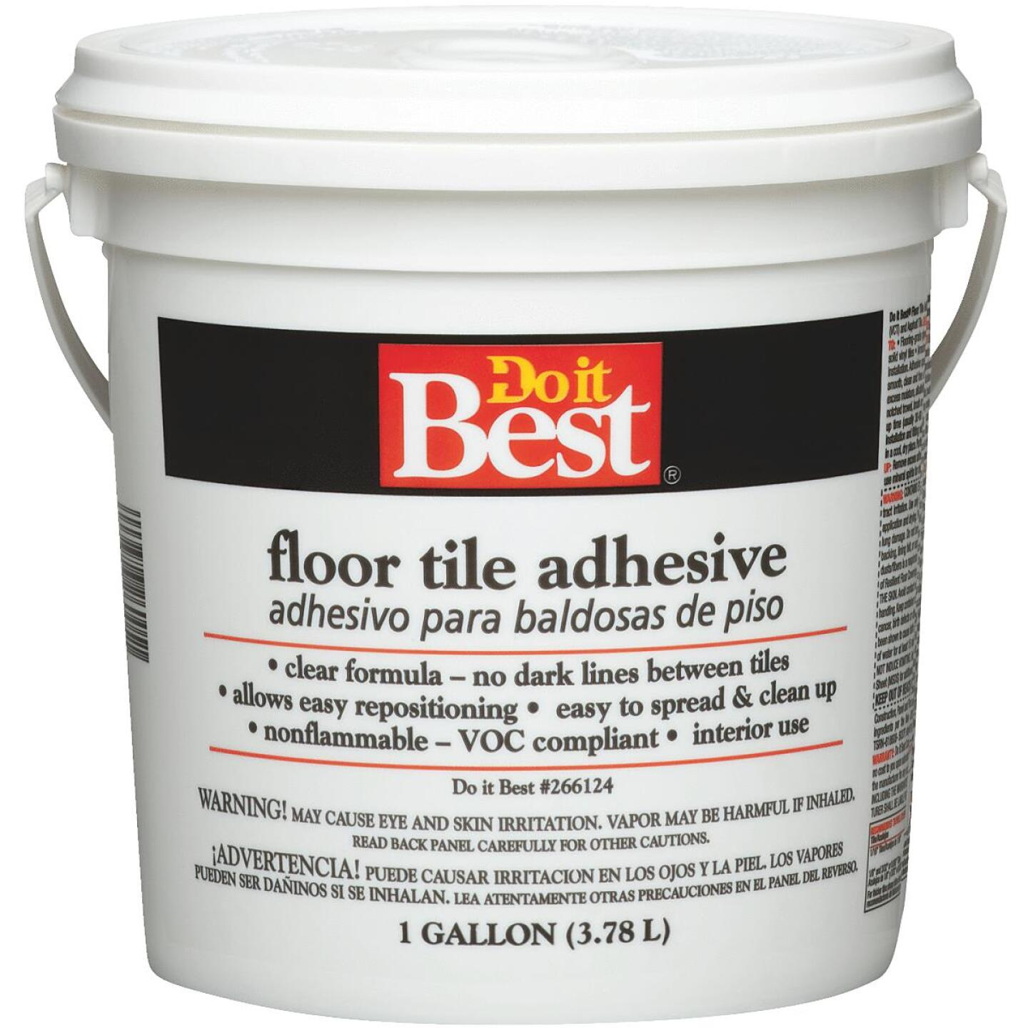 Do it Best Clear Thin Spread Floor Tile Adhesive (Gallon) Image 1