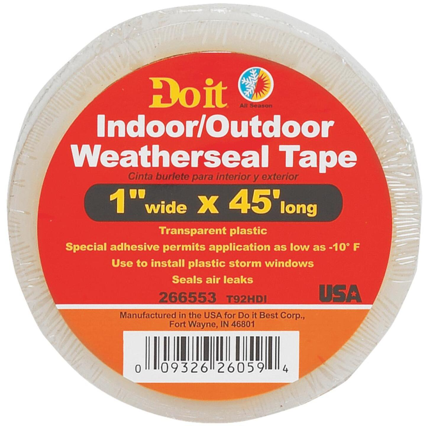 Do it 1 In. x 45 Ft. Clear Weatherseal Tape Image 2