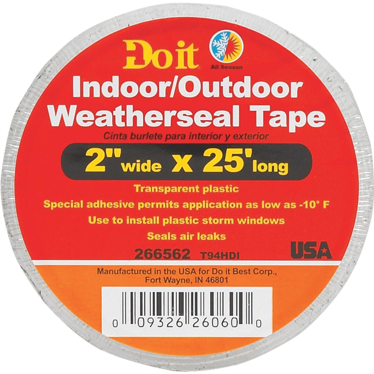 Do it 2 In. x 25 Ft. Clear Weatherseal Tape Image 2