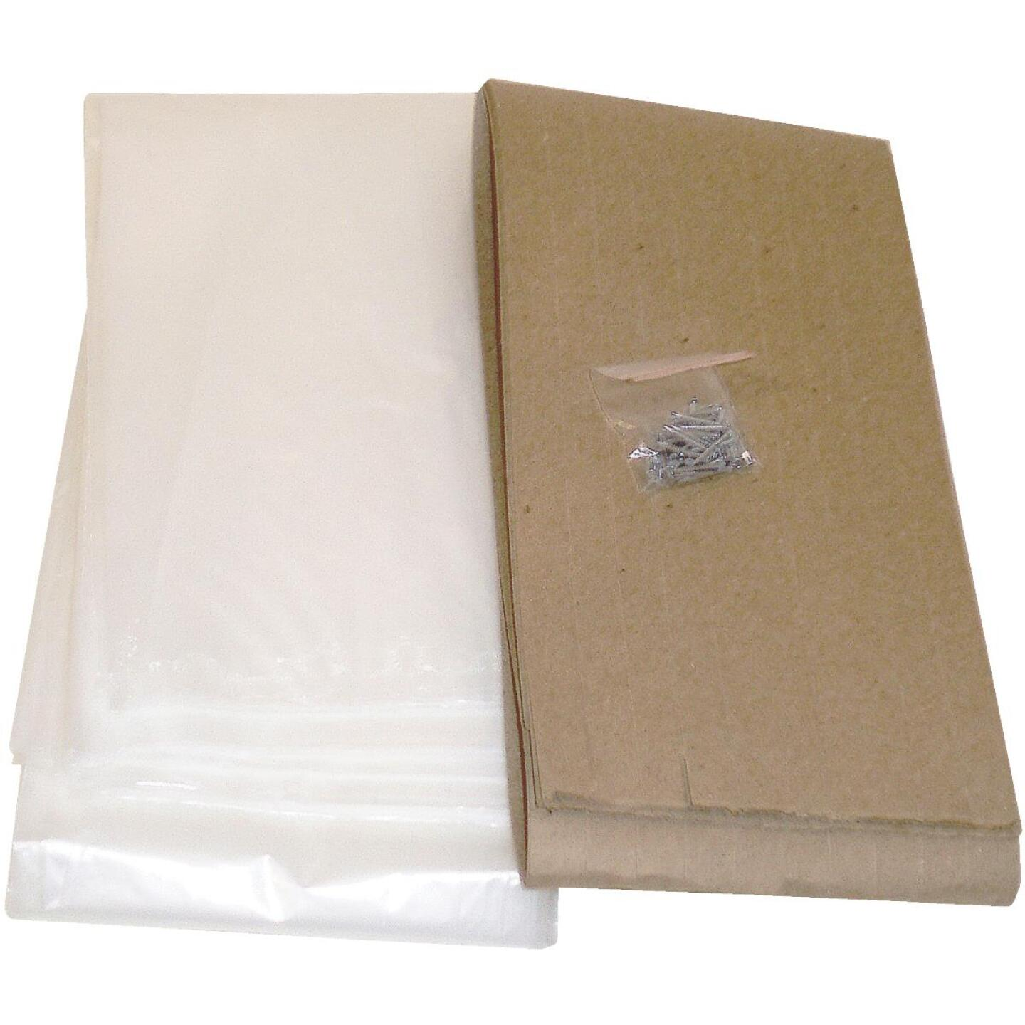 Do it Outdoor 3 Ft. x 6 Ft. x 1. 25 mil Thick Window Insulation Kit, (4-Pack) Image 1