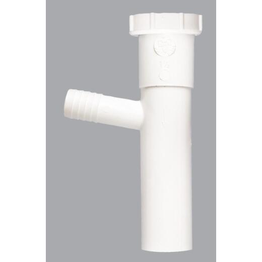 Do it 1-1/2 In. x 8 In. 7/8 In. White Dishwasher Tailpiece