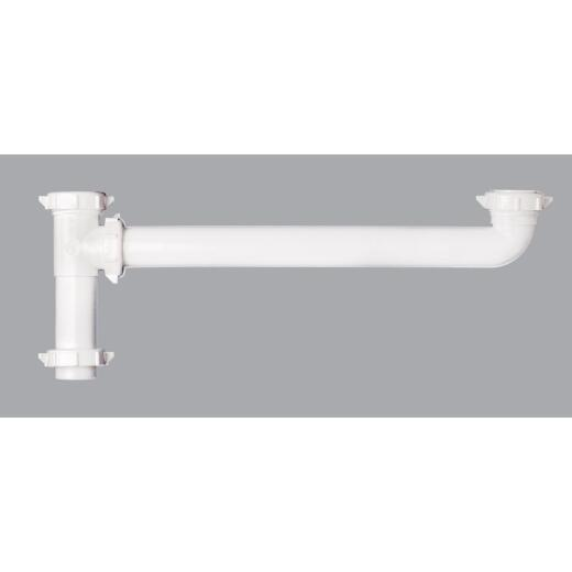 Do it 1-1/2 In. x 16 In. White Plastic End Outlet Waste