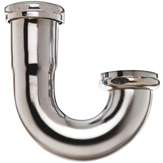 Do it 1-1/2 In. x 1-1/2 In. Chrome Plated J-Bend