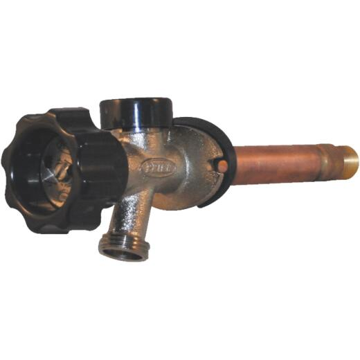 Prier 1/2 In. SWT X 1/2 In. X 14 In. IPS Anti-Siphon Frost Free Wall Hydrant