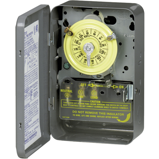Intermatic 240V 40A 4000W DPST Timer