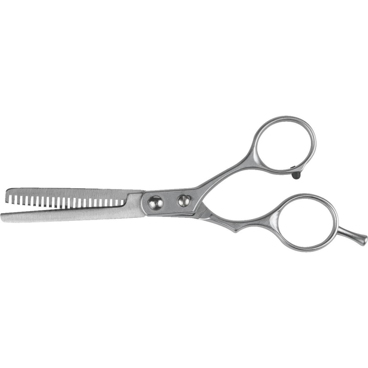 Klein 6 In. Silver Hair Thinning Shears Image 1