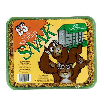 C&S 2.7 Lb. Squirrel Food Snack Cake
