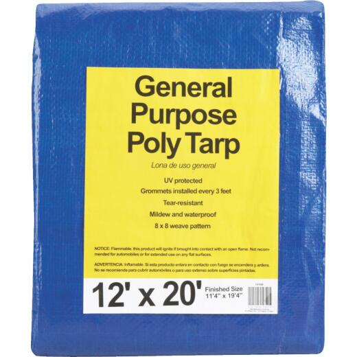 Do it Blue Woven 12 Ft. x 20 Ft. General Purpose Tarp