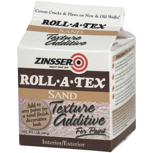 Zinsser Roll-A-Tex Sand Finish Texture Additive, 1 Lb.
